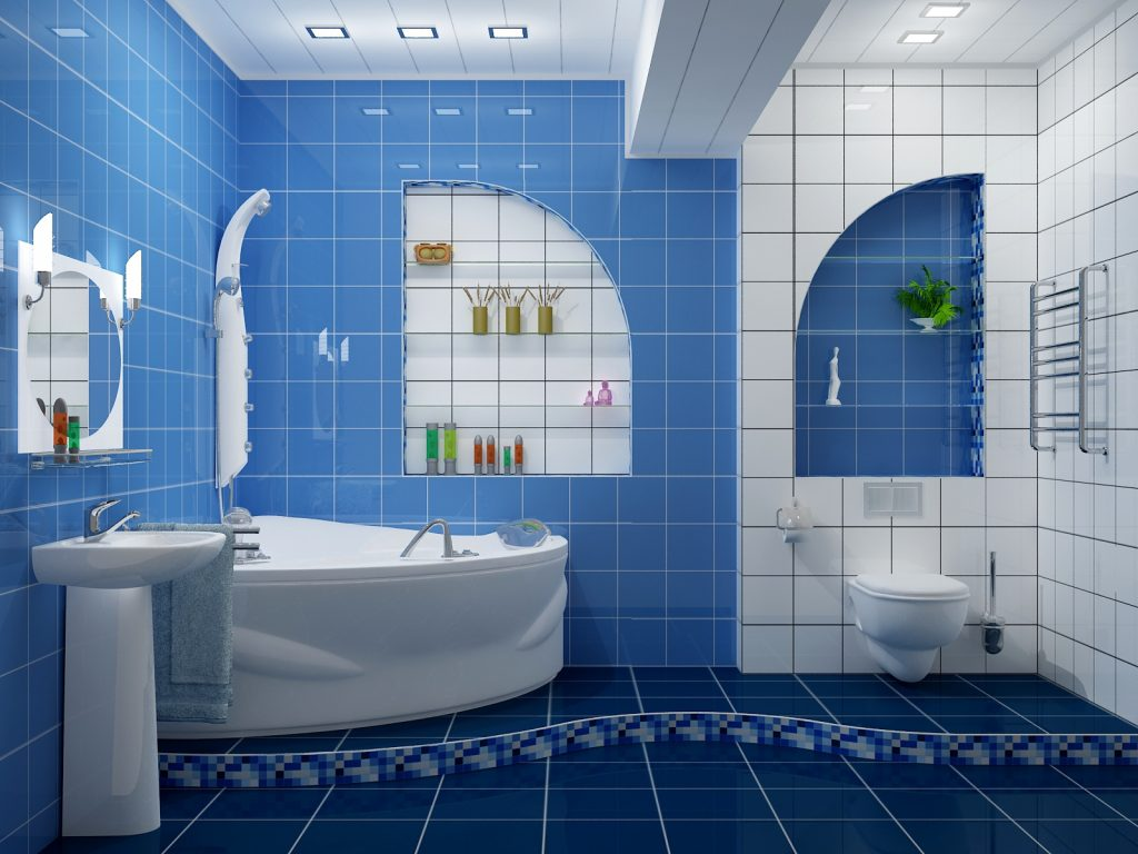 37 Small Blue Bathroom Tiles Ideas And Pictures White Bathrooms