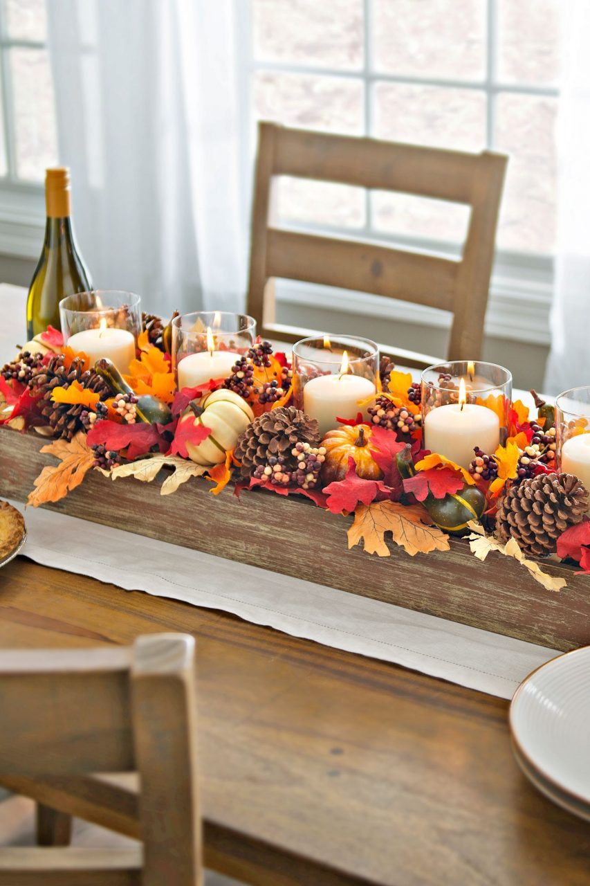 51 Fall Table Centerpieces Autumn Centerpiece Ideas