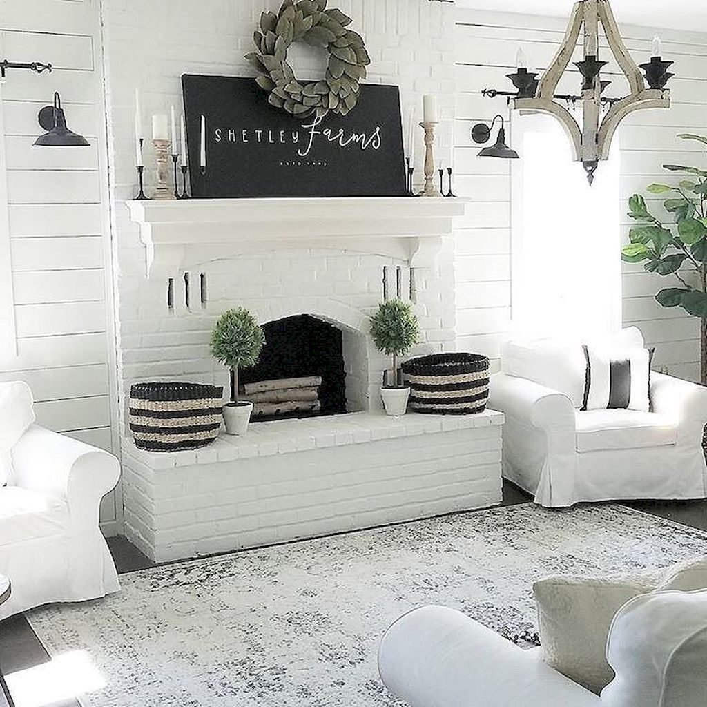 70 Cozy Modern Farmhouse Living Room Decor Ideas Ideas For The