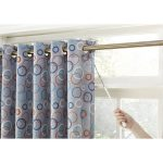 Shower Sliding Door Curtain