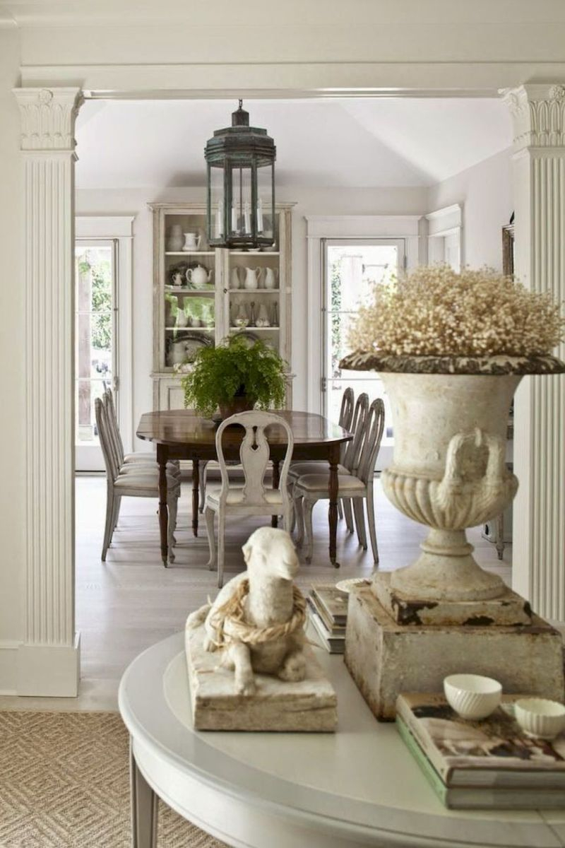 85 Beautiful French Country Dining Room Decor Ideas Dining Room