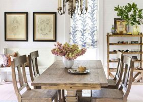 Rustic Country Living Dining Room