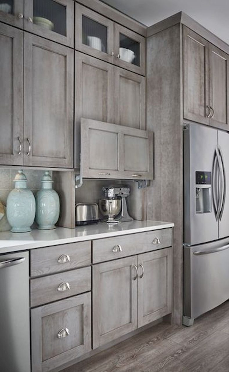 90 Rustic Kitchen Cabinets Farmhouse Style Ideas 26 In 2019