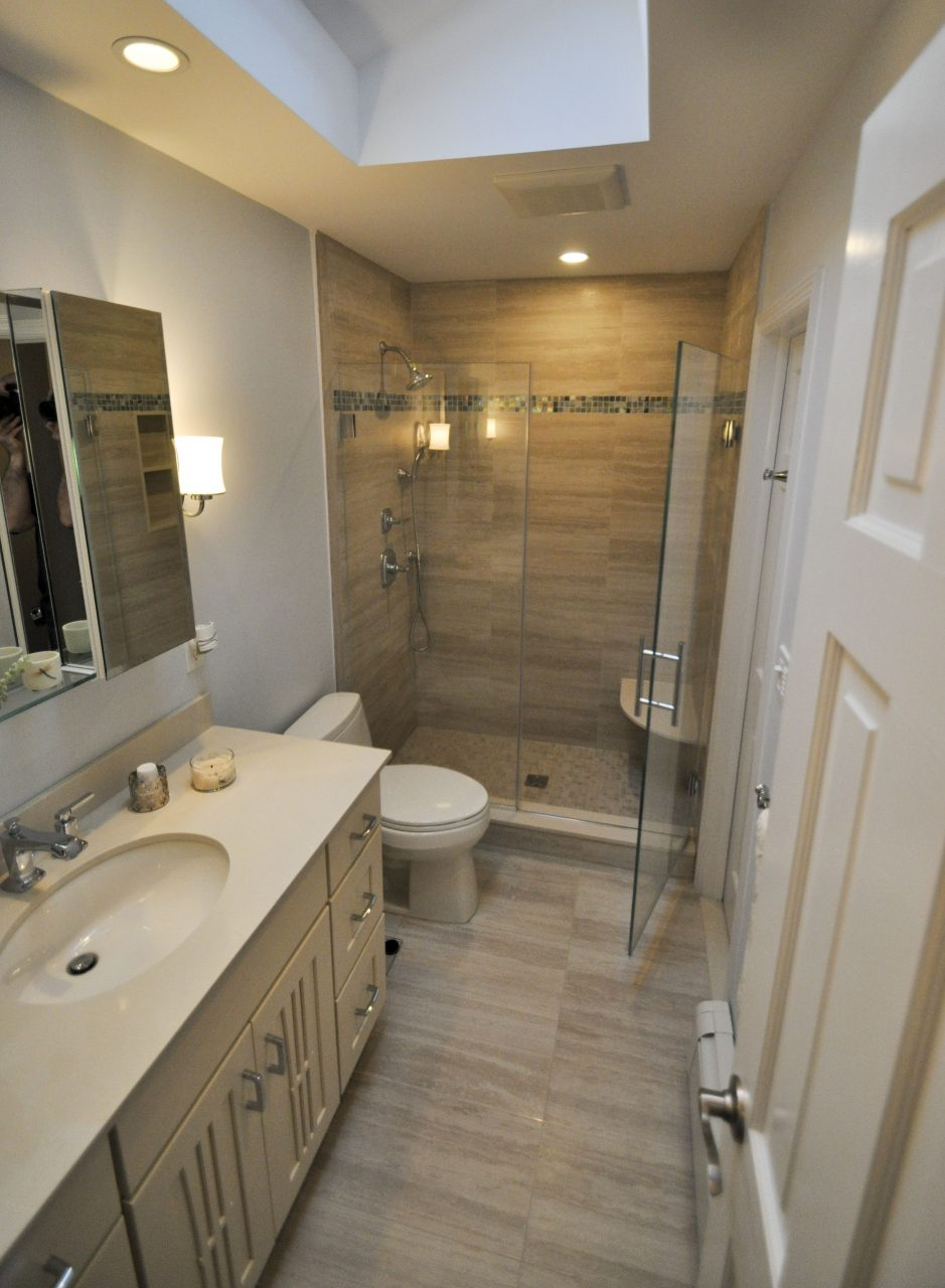 9x5 Bathroom With Stand Up Shower Design That I Love In 2019