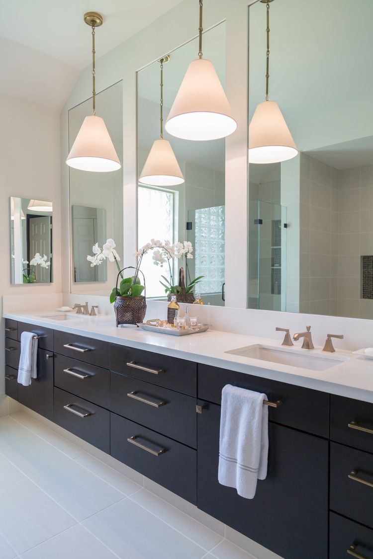 A Beautiful Alternative For Lighting In The Bathroom Lighting