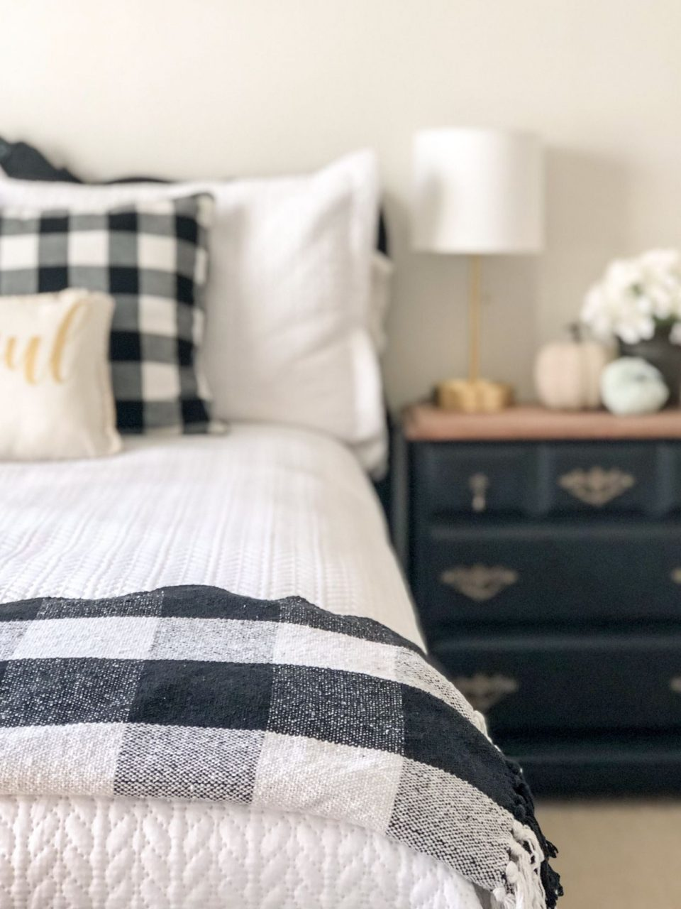 Adding Buffalo Check To My Guest Room Master Bedroom Bedroom