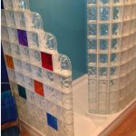 Colored Glass Shower
