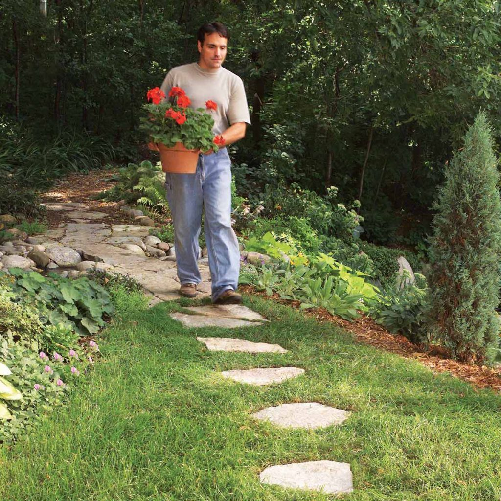 Affordable Garden Path Ideas Family Handyman