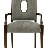Arm Chair Bernhardt Upholstered Dining Chairs Set Of 4