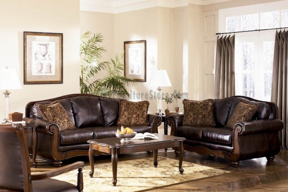 Ashley Furniture Living Room Antique Living Room Set Signature