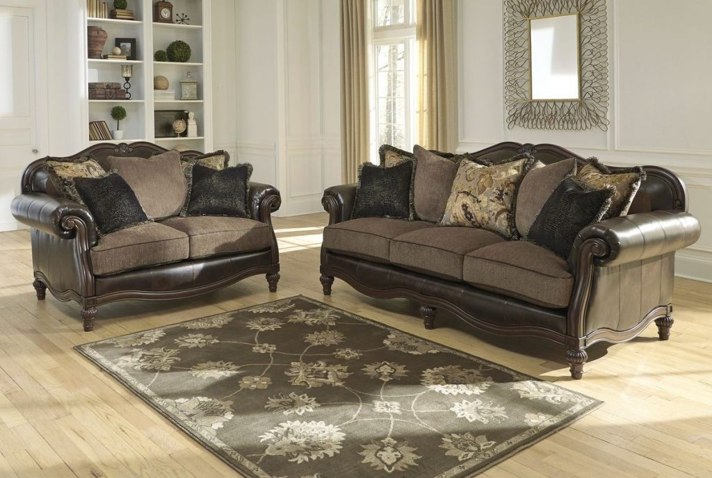 Ashley Furniture Winnsboro Living Room Set In Vintage Ashley