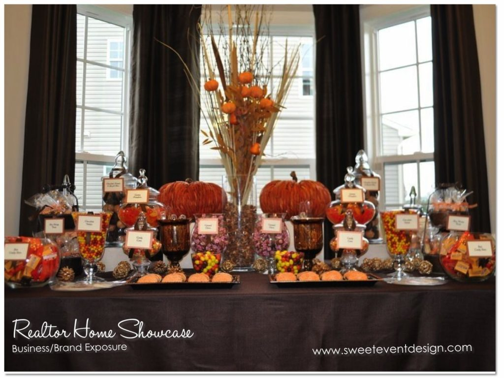 Autumn Candy Buffet Wedding Love Fall Wedding Favor Ideas In