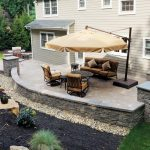 Back Yard Patio Design Idea