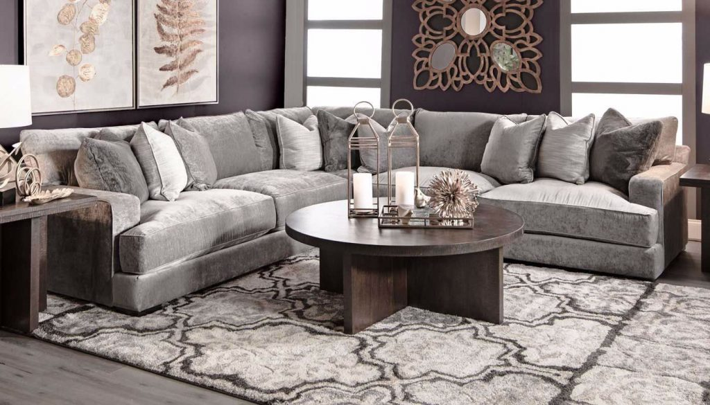 Balboa Sectional Home Zone Furniture Living Room Home Zone