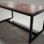 Bar Height Dining Table Yamwood Foundry