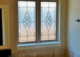 Bathroom Window Stained Glass Designs