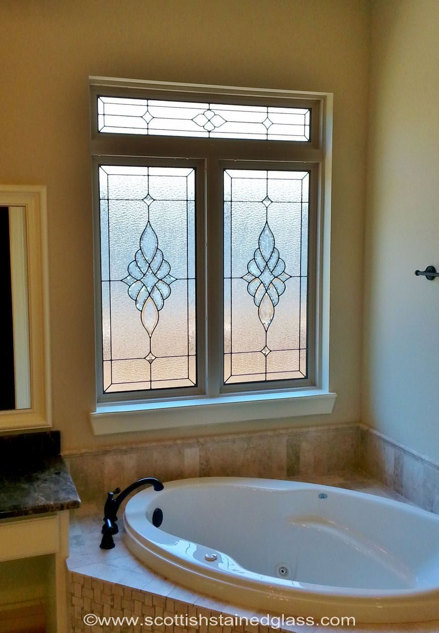 Bathroom Stained Glass Window Bathroom Stained Glass In 2019
