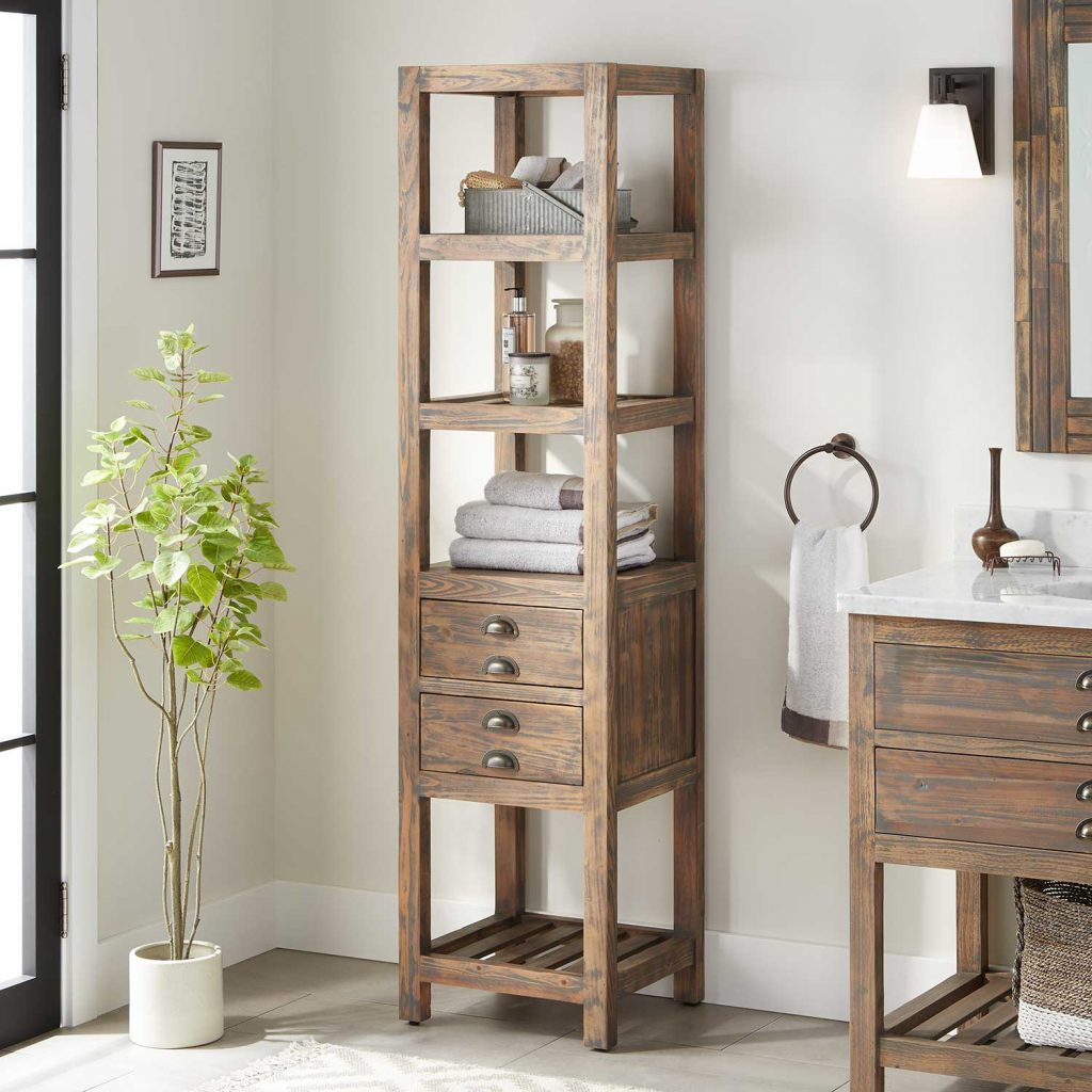 Bathroom Storage Cabinet Signature Hardware