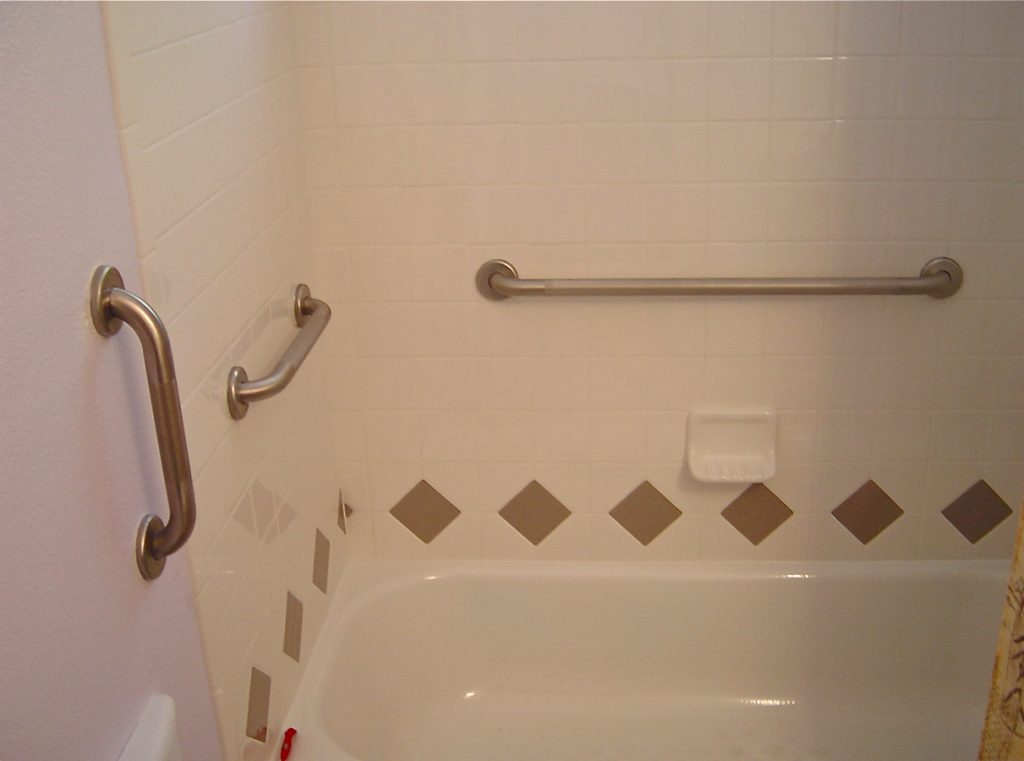 Bathroom Terrific Ada Shower Grab Bar Placement 128 Toilet Stall