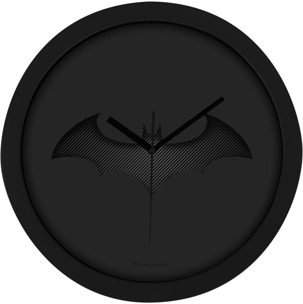 Batman Wall Clock Black Batarang Blacksbricks