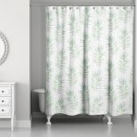 Bayou Breeze Risha Palm Leaf Single Shower Curtain Wayfair