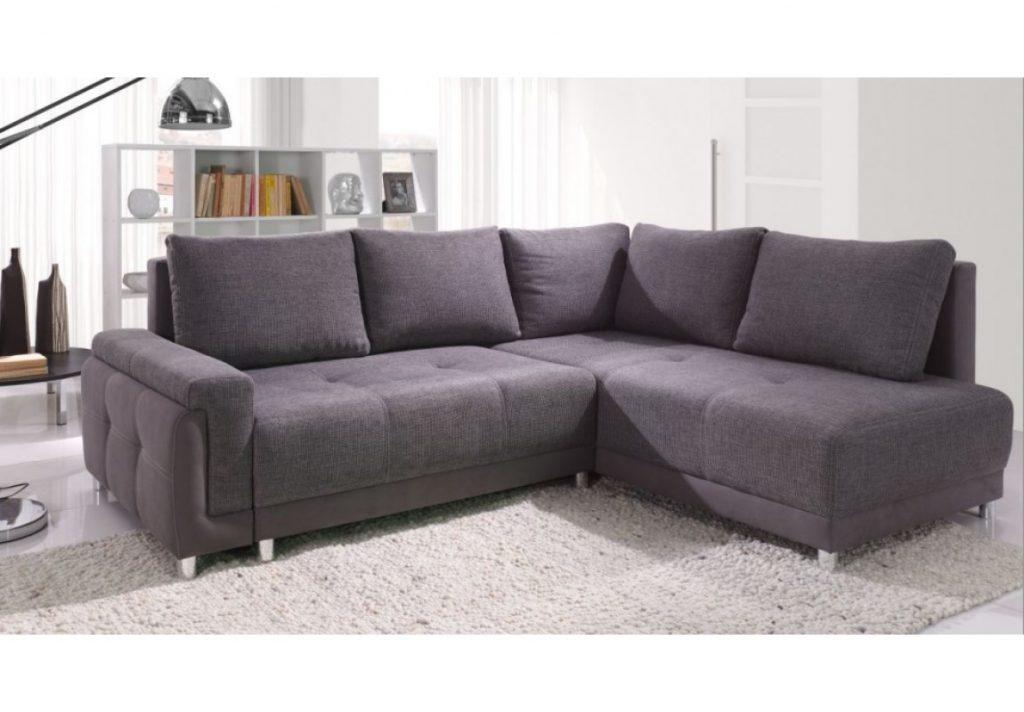 Beate Fabric Corner Sofa Beds Ready For Fast Delivery