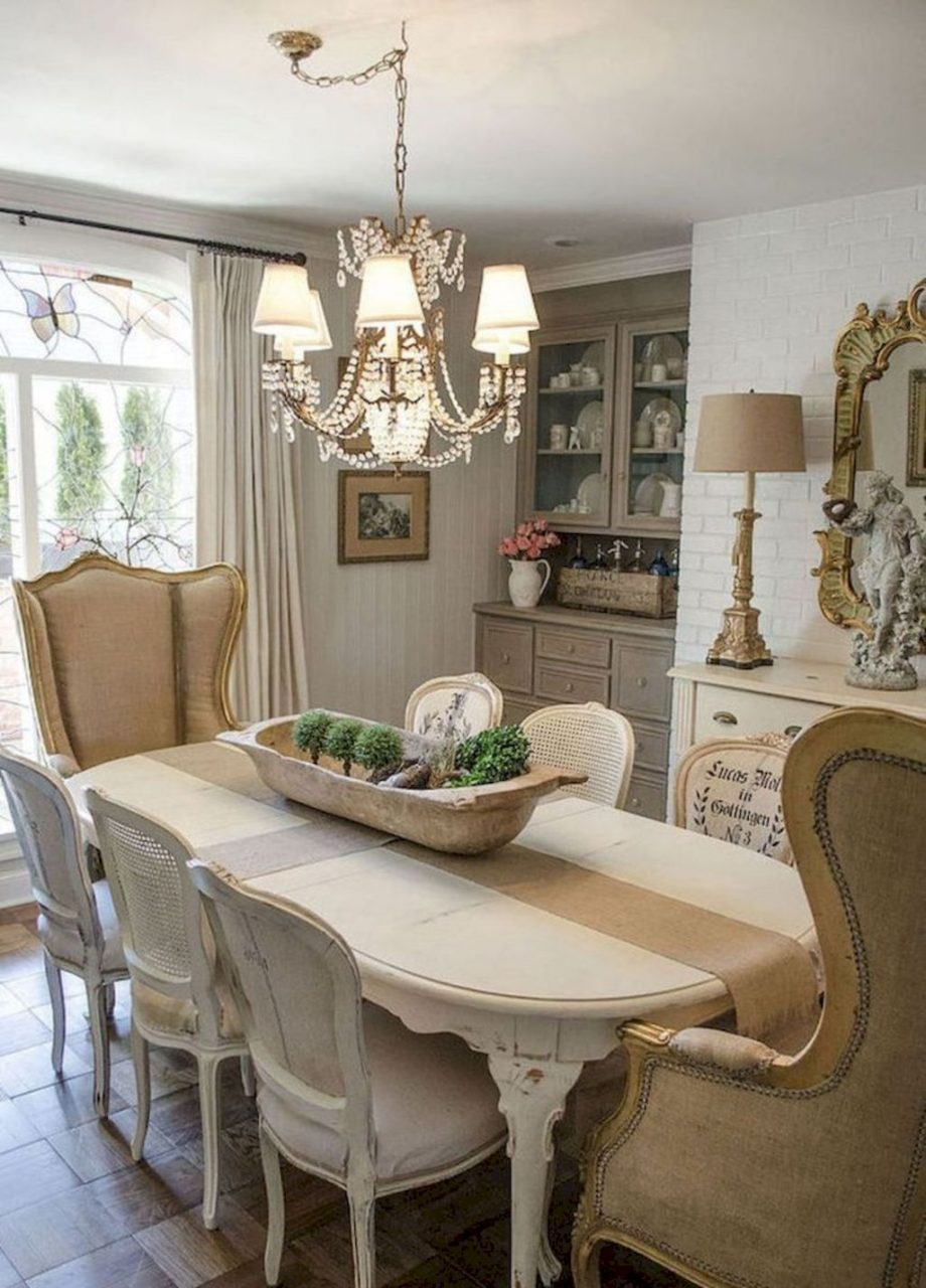 Beautiful Fancy French Country Decorating Ideas For Your Dining Room