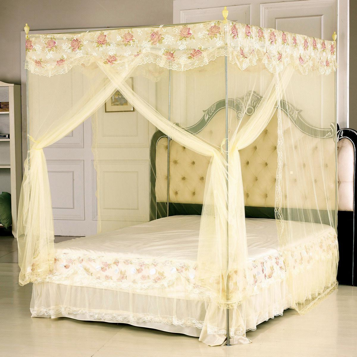 Bedroom Princess Canopy Beds For Girls Pink Canopy Bed Curtains Layjao