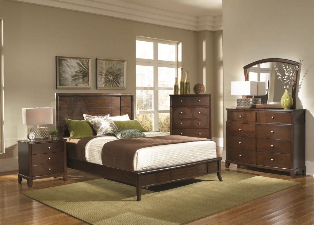 Bedroom Which Paint Color Goes With Brown Furniture White And
