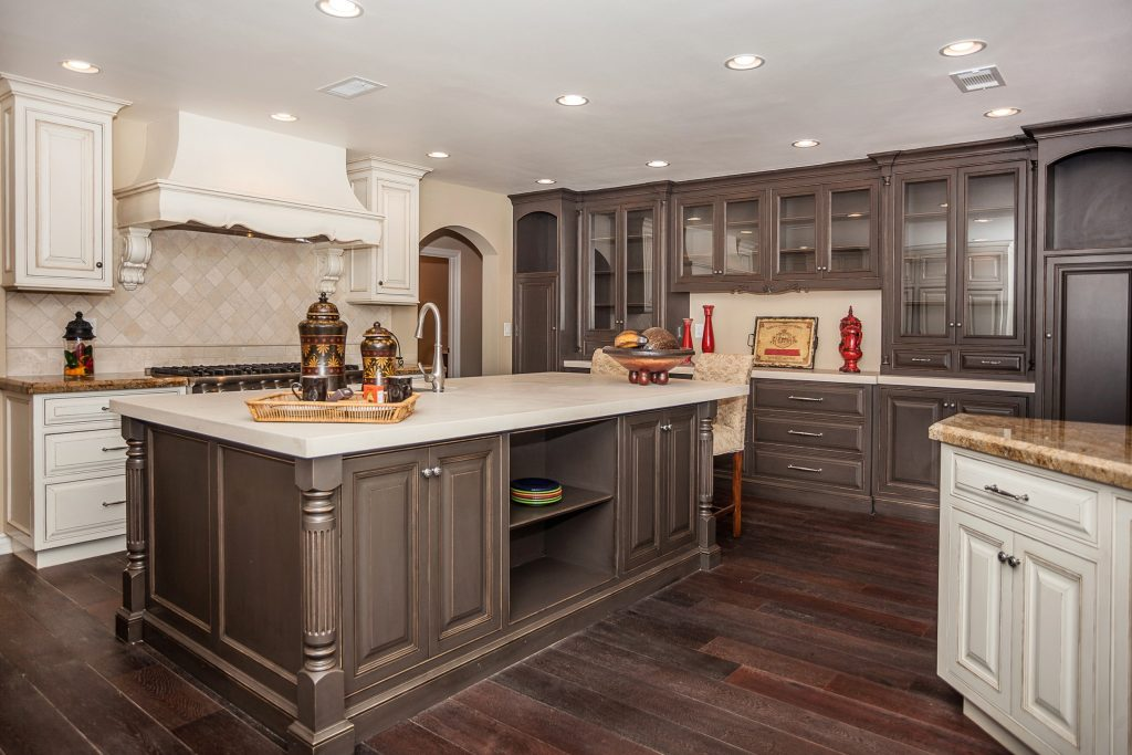 Best Color For Kitchen Cabinets With Dark Floors Kitchen Design