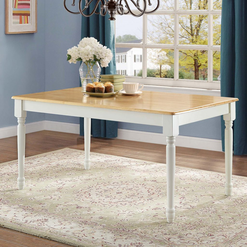 Better Homes And Gardens Autumn Lane Farmhouse Dining Table White