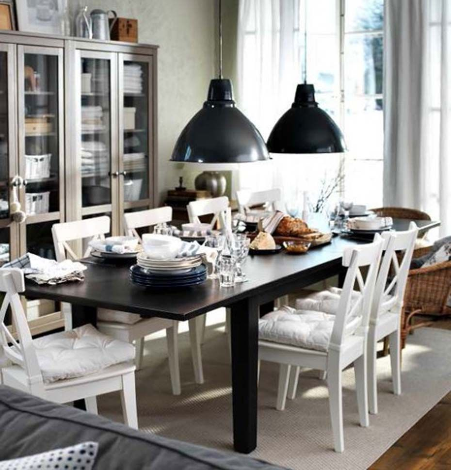 Black And White Dining Room Ideas For The Best Opposites Dining