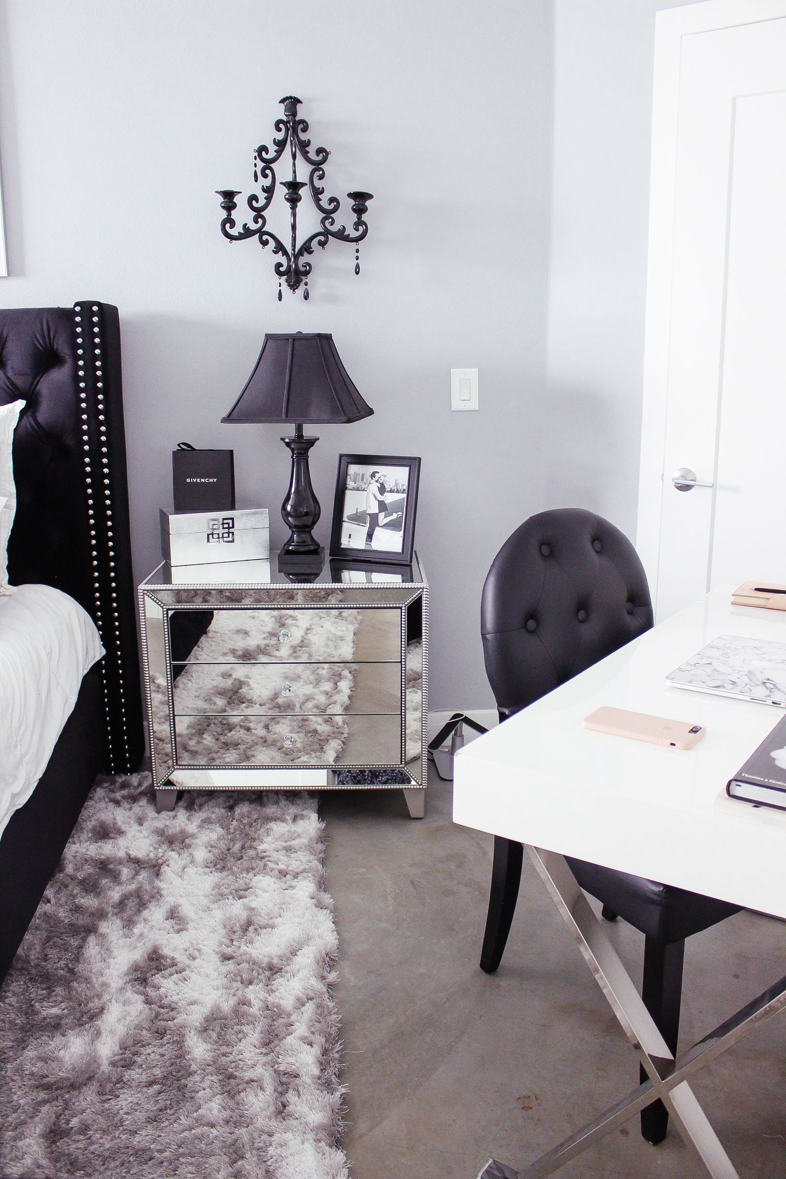 Black White Bedroom Decor Reveal Beauty Fashion