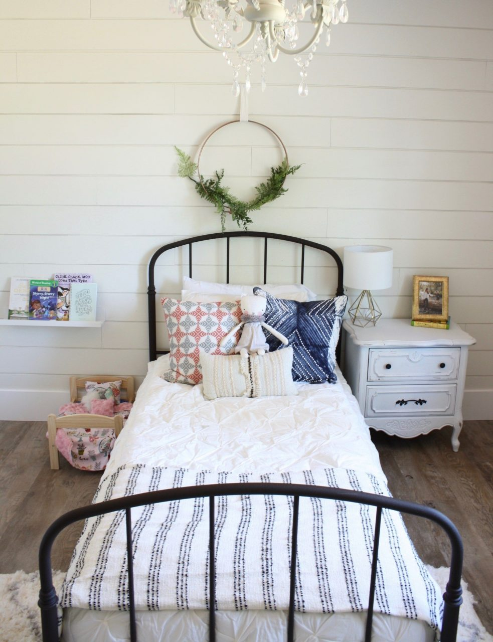 Boho Farmhouse Big Girl Room Super Cute Big Girl Room With Touches
