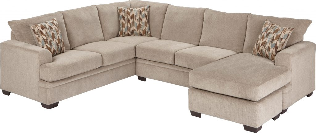 Brenton Court 2 Pc Platinum Sectional