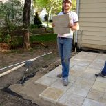 Bring On The Yardwork Part 1 Installing A Paver Patio Outdoor