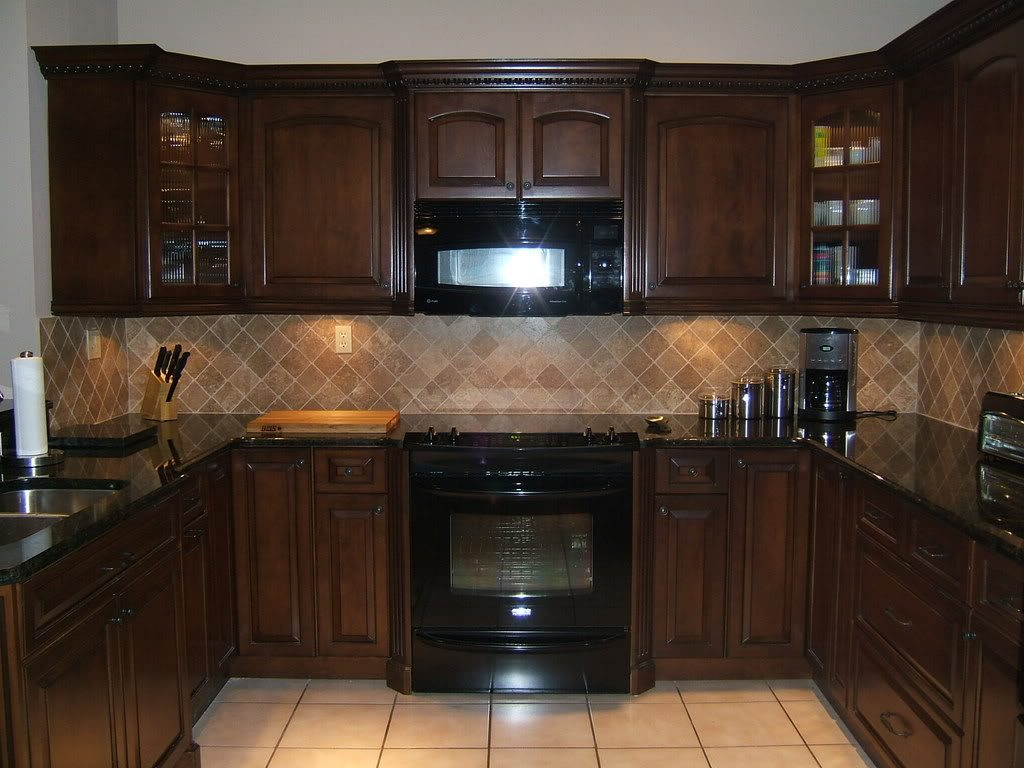Brown Mahogany Kitchen Cabinets The New Way Home Decor Why We