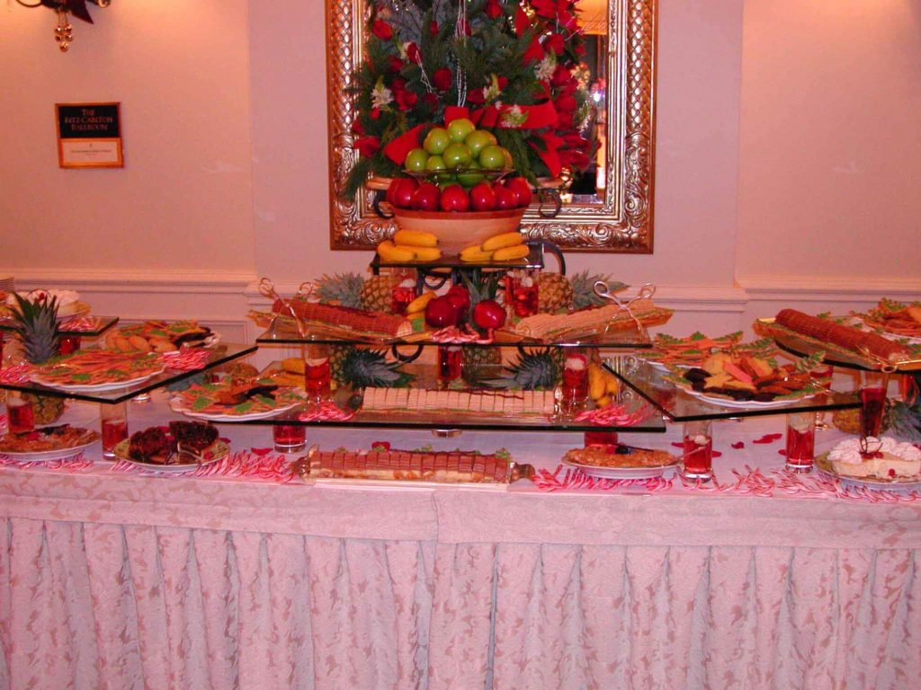 Buffet Table Decorating Ideas America Underwater Decor How To