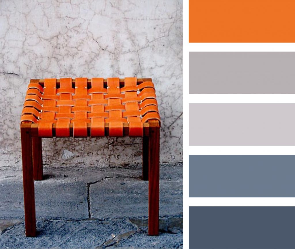 Burnt Orange Gray And Blue Palette Casamidy Colours