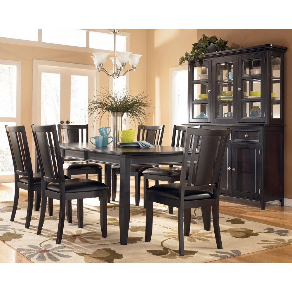 Carlyl Extension Dining Room Set In 2019 China Cabinet Redos