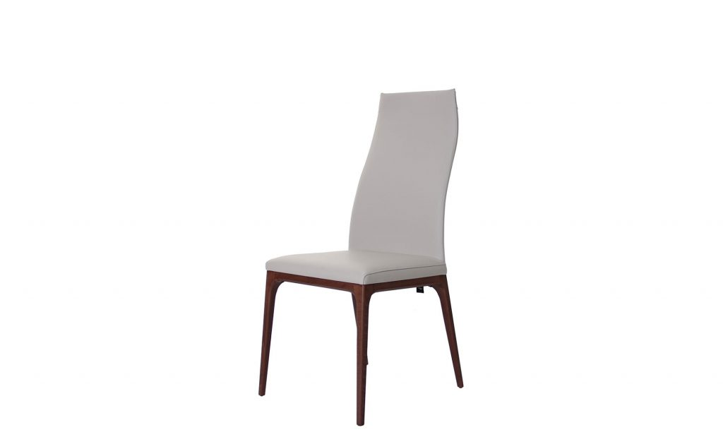 Cattelan Walnut High Back Dining Chairs Fishpools
