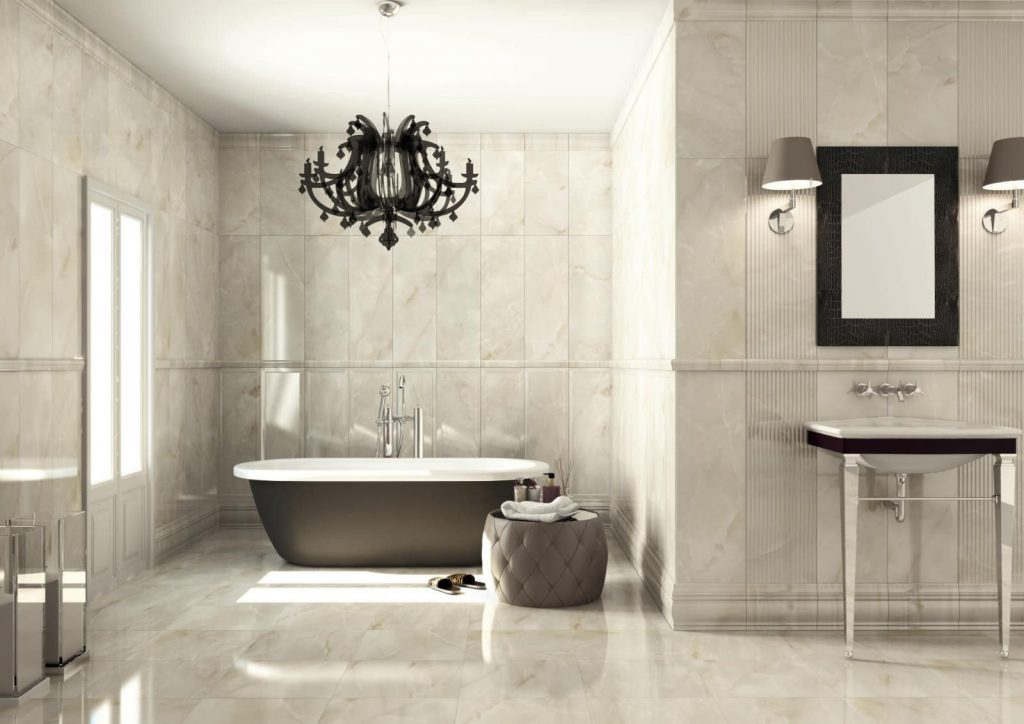 Ceramic Floor Tile Samples And Installation Classique