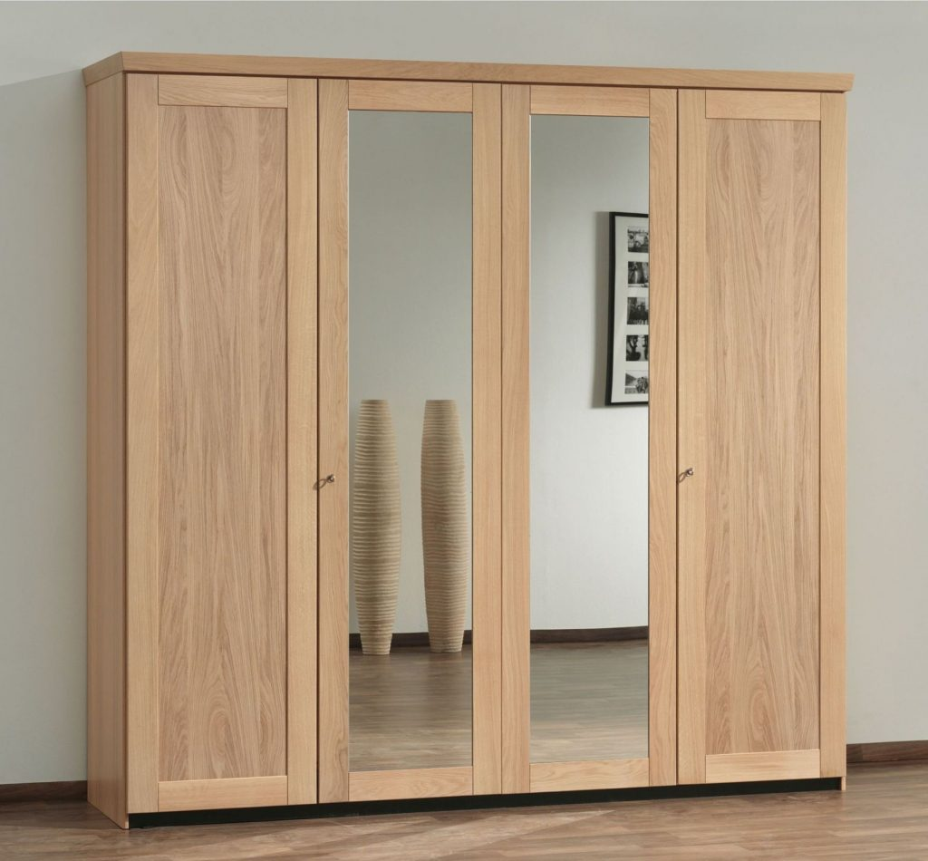 Classy Amazing Ideas Wardrobe Cabinet With Mirror White Wooden