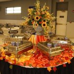 Fall Buffet Table Decorating Ideas