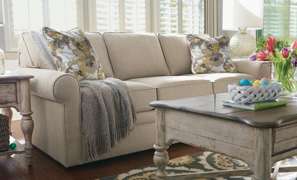Collins Beige Sofa Living Room