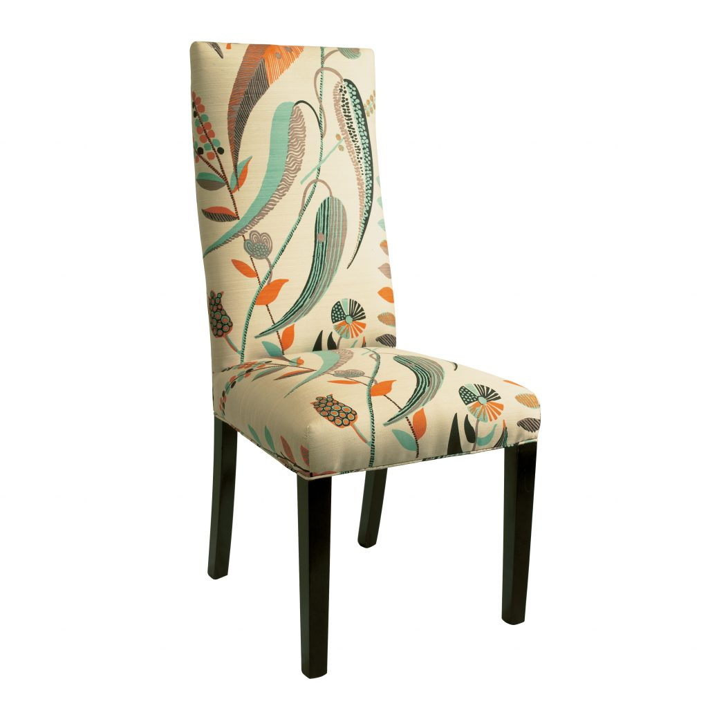 Contemporary High Back Dining Chair