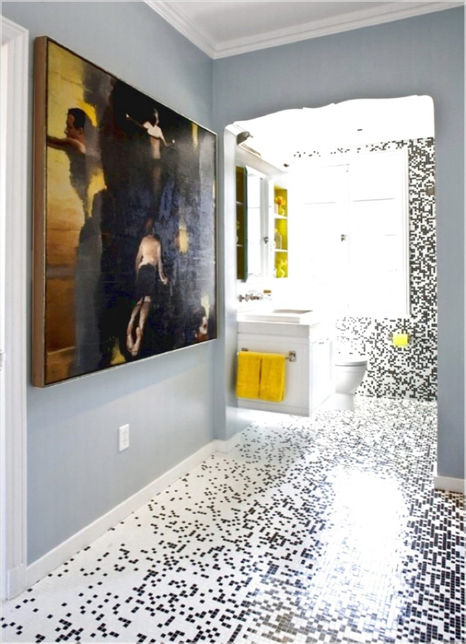 Cool Mosaic Tile Bathroom Floor Inspiration Bathroom Design Ideas