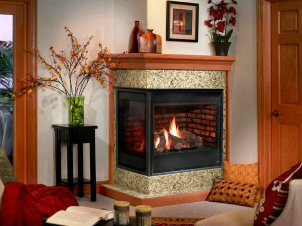 Corner Gas Fireplace Design Ideas Home Fireplaces Firepits For