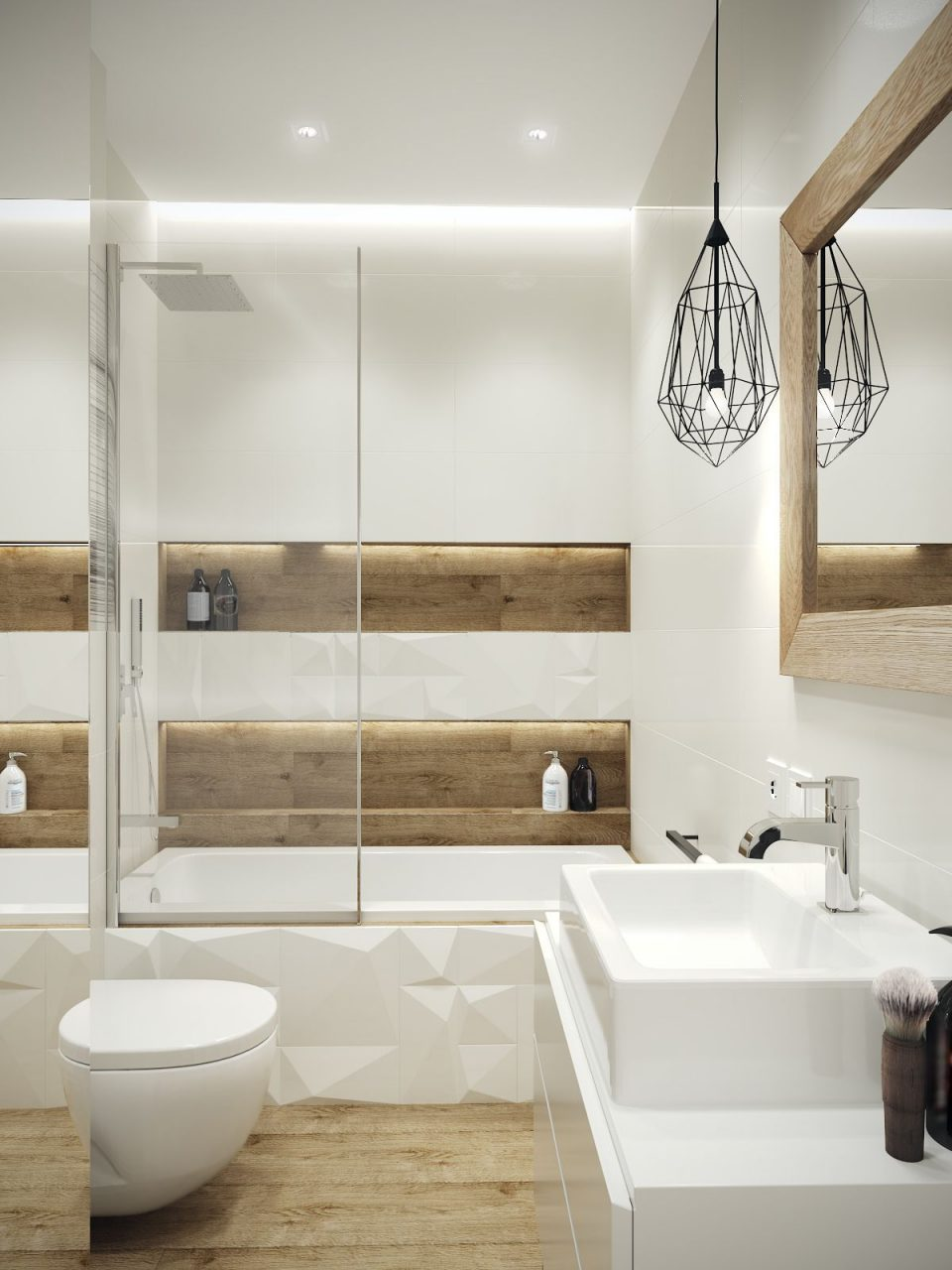 Cosy Elegant And Functional Bathroom Which Is Only 45m2