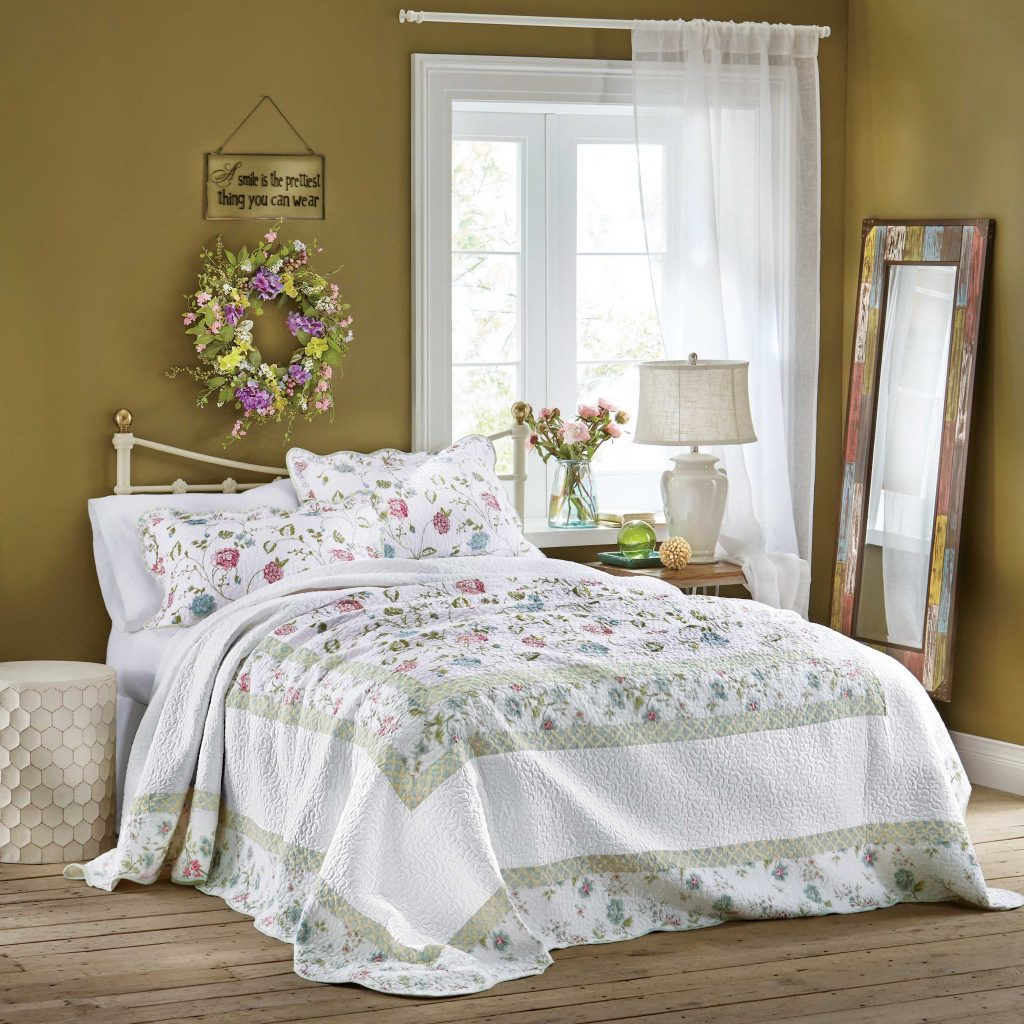 Cottage Style Bedroom Decorating Ideas Pure Comfort Bedding